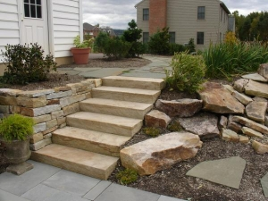 Stone Steps & Coping